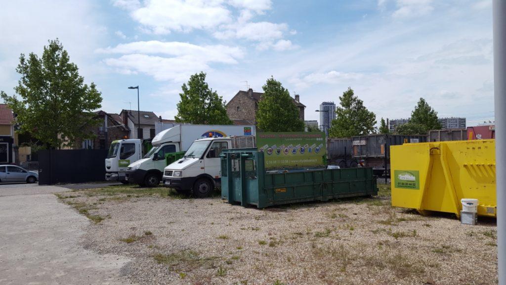 location de bennes pour déchets et gravats de chantier