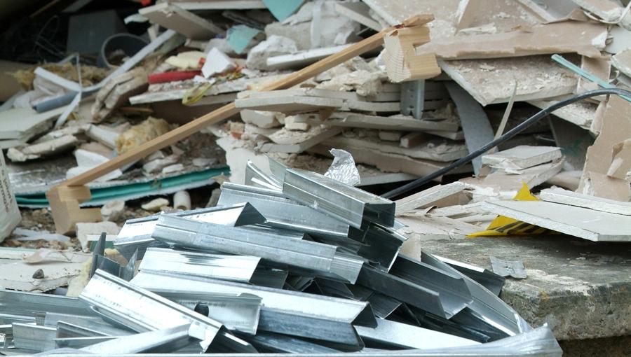 Déchets de chantier recyclés par Citydebarras sur Paris et l'île de France