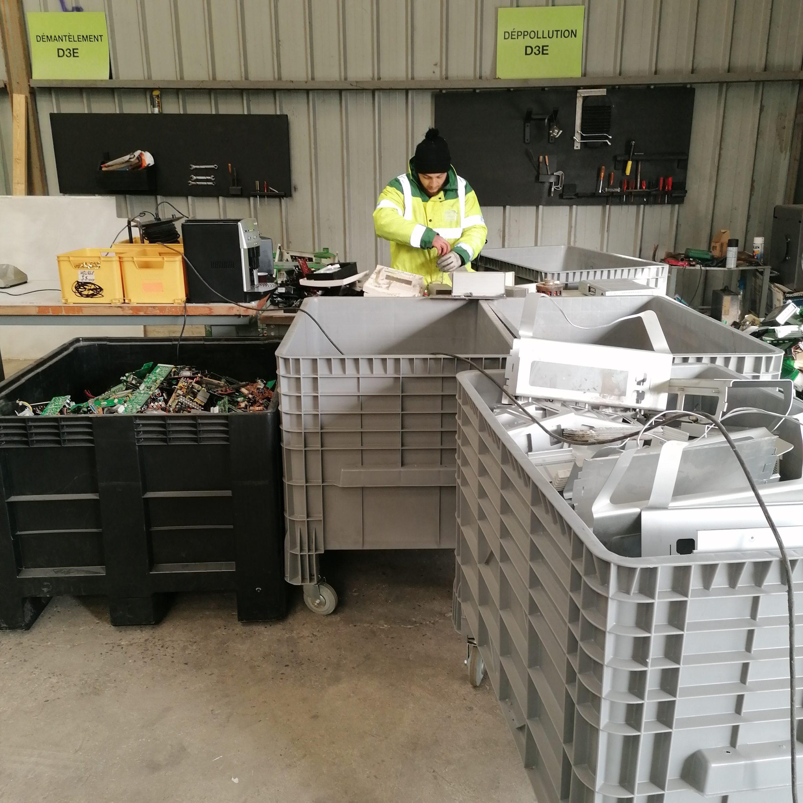 Recyclage DEEE sur Paris et l'île de France