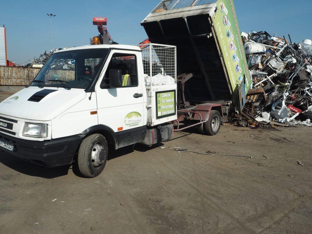 recyclage fer metaux