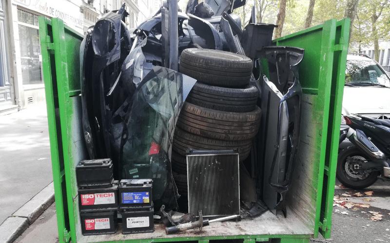recyclage déchets automobiles