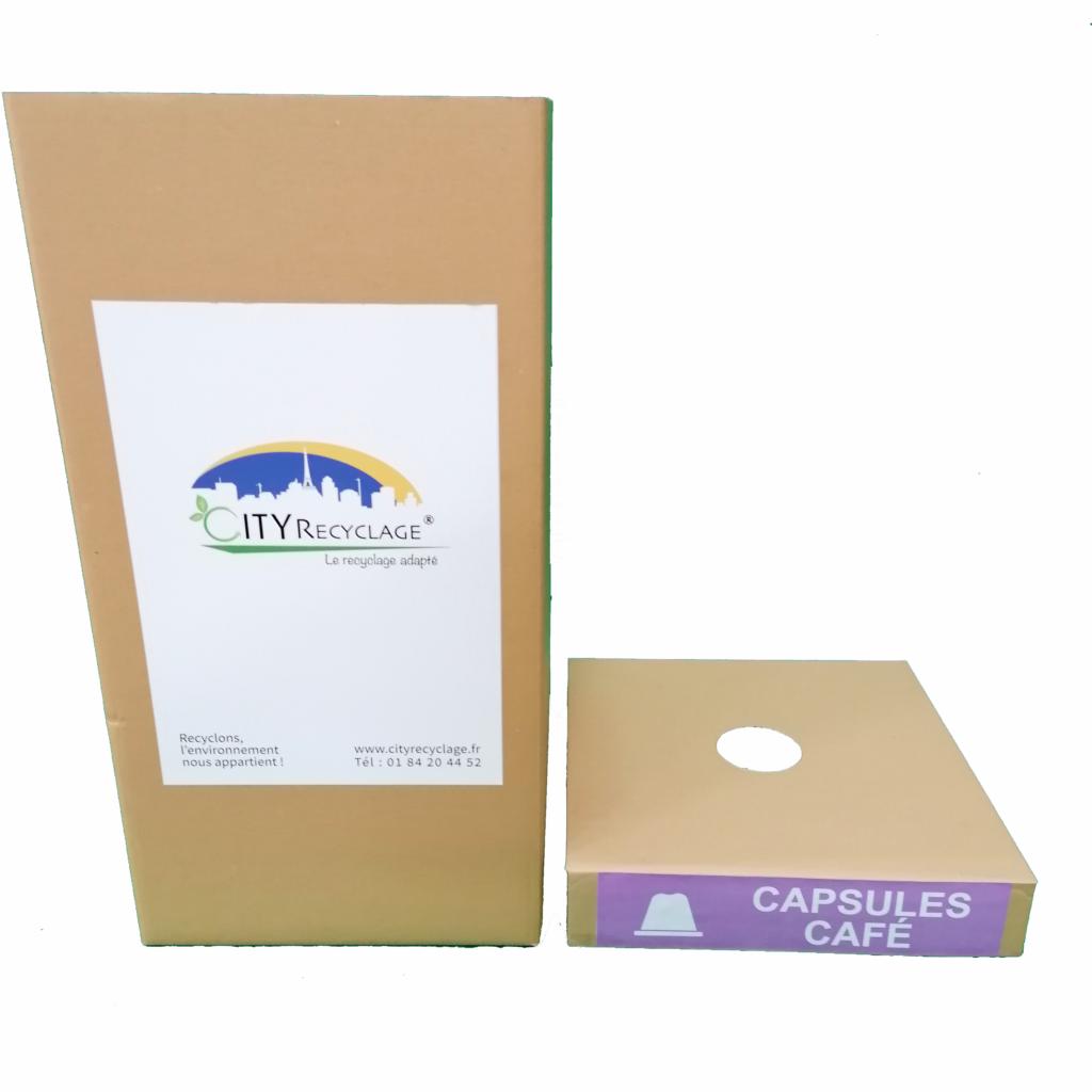 Recyclage Capsules café