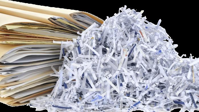 Destruction documents administratifs
