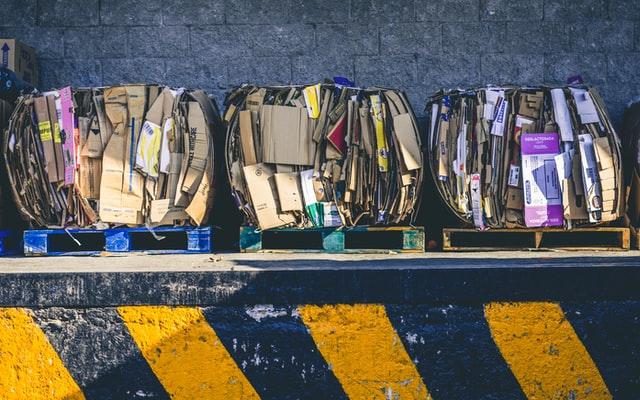 Bennes pour déchets chantier